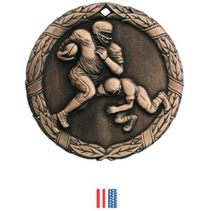 BRONZE MEDAL/FLAG RIBBON