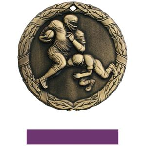 GOLD MEDAL/PURPLE RIBBON
