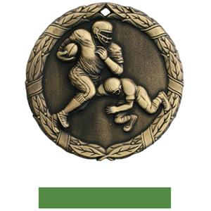 GOLD MEDAL/GREEN RIBBON