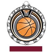 Hasty Award Basketball Eclipse Insert Medal M-4401