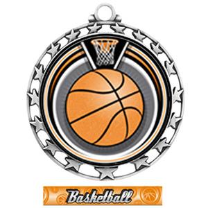 SILVER/GRAPHX BASKETBALL RIBBON