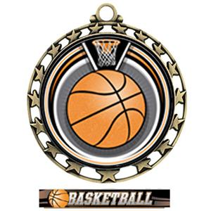 GOLD/ULTIMATE BASKETBALL RIBBON