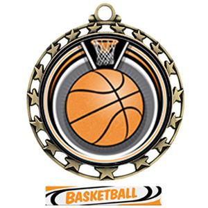 GOLD/DELUXE BASKETBALL RIBBON