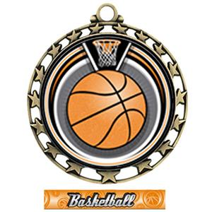 GOLD/GRAPHX BASKETBALL RIBBON
