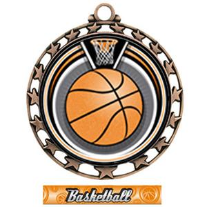 BRONZE/GRAPHX BASKETBALL RIBBON