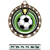 Hasty Awards Soccer Eclipse Insert Medal M-4401