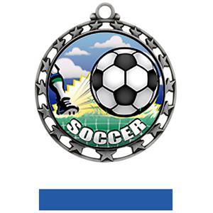 SILVER MEDAL/BLUE RIBBON