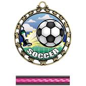 Hasty Awards Soccer HD Insert Medals M-4401