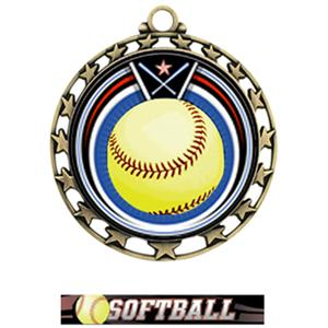 GOLD MEDAL / ULTIMATE SOFTBALL RIBBON