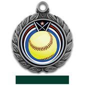 "Hasty Awards 2.75"" Softball Eclipse Insert Medals"