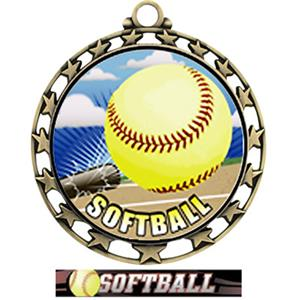 GOLD MEDAL/ULTIMATE SOFTBALL RIBBON