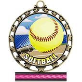 Hasty Awards Softball HD Insert Medals M-4401