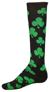 BLACK/GREEN SHAMROCK