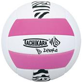 Tachikara SofTec Zebra Indoor/Outdoor Volleyball