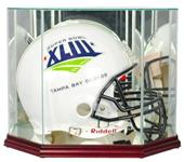 "Perfect ""Football Helmet"" Octagon Display Cases"