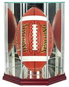"Perfect Cases ""Football Upright"" Display Cases"