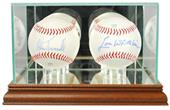 """Perfect Cases """"Double Baseball"""" Display Cases"""