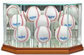 """Perfect Cases """"8 Baseball"""" Octagon Display Cases"""