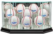"Perfect Cases ""8 Baseball"" Octagon Display Cases"