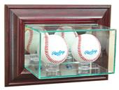 "Perfect Cases ""Double Baseball"" Wall Display Cases"