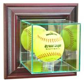 Perfect Cases Softball Wall Mounted Display Cases