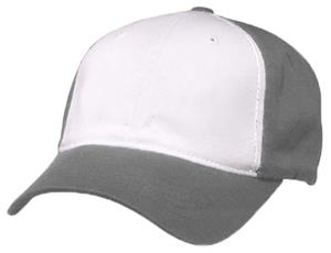 WHITE PANEL/CHARCOAL GREY CAP