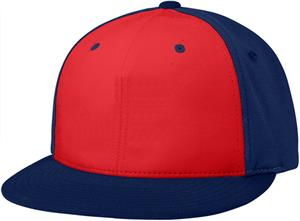 (ALT.) RED FRONT PANEL/NAVY SIDE PANELS & VISOR