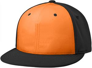 (ALT.) ORANGE FRONT PANEL/BLACK SIDE PANELS & VISO