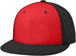 (ALT.) RED FRONT PANEL/BLACK SIDE PANELS & VISOR
