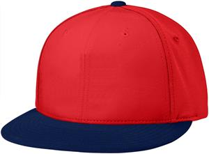 (COMBO) RED CROWN / NAVY VISOR