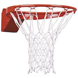 ORANGE RIM/WHITE NET