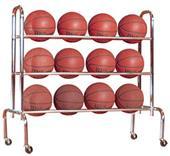 FT15 Economy Basketball Ball Carrier Holds 12