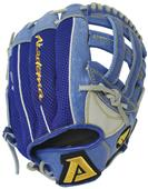 "ARA93 11"" Manny Ramirez Youth Blue Mesh Back Glove"