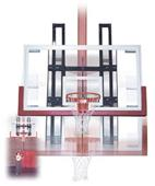 Basketball Backboard Height Adjuster 36x62 Mount