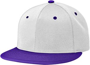 (COMBO) WHITE CROWN/PURPLE VISOR