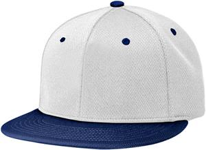(COMBO) WHITE CROWN/NAVY VISOR