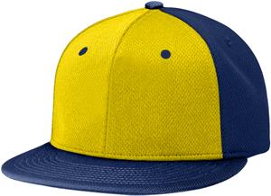 (ALTERN.) GOLD FRONT PANEL/NAVY PANELS & VISOR