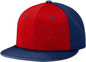 (ALTERN.) RED FRONT PANEL/NAVY PANELS & VISOR