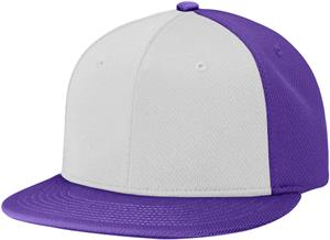 (ALTERN.) WHITE FRONT PANEL/PURPLE PANELS & VISOR
