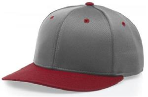 (COMBO) CHARCOAL CROWN/RED VISOR