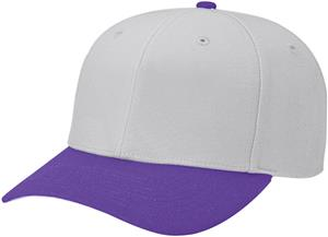(COMBO) GREY CROWN/PURPLE VISOR