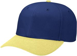 (COMBO) NAVY CROWN/VEGAS GOLD VISOR