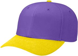 (COMBO) PURPLE CROWN/GOLD VISOR