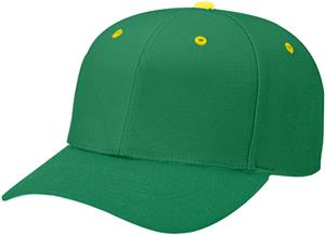 (CONTRAST) DK GREEN CROWN/GOLD BUTTON/EYELETS
