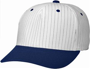 (COMBO) WHITE CROWN / NAVY VISOR