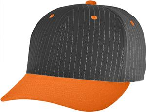 (COMBO) BLACK CROWN / ORANGE VISOR