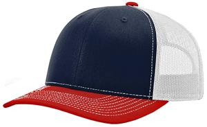 NAVY/WHITE/RED (TRI-COLOR)