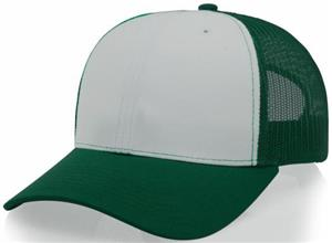 WHITE/DARK GREEN (ALTERNATE)