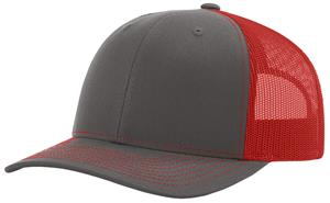 CHARCOAL/RED (SPLIT)