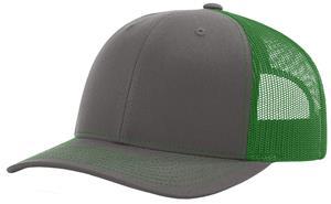 CHARCOAL/KELLY GREEN (SPLIT)